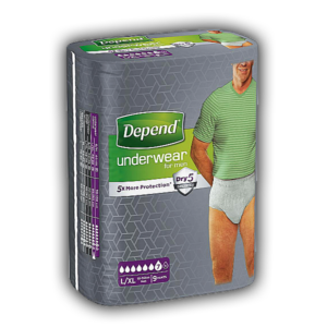 Depend Pants voor Mannen Normal L/XL