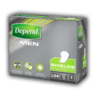 Depend For Men Shields