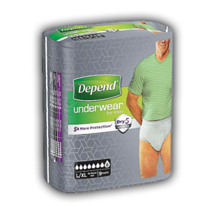 Depend Pants voor Mannen Super L/XL