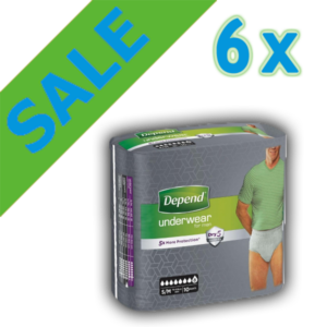 Depend Pants For MEN Super S/M Sale