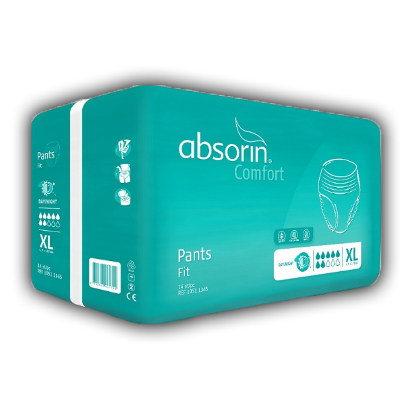 Absorin Comfort Pants Fit XL