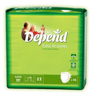 Depend Pants Super Easy-Fit L/XL