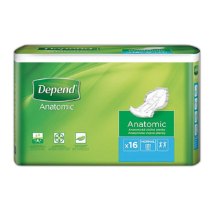 Depend Anatomic Normal