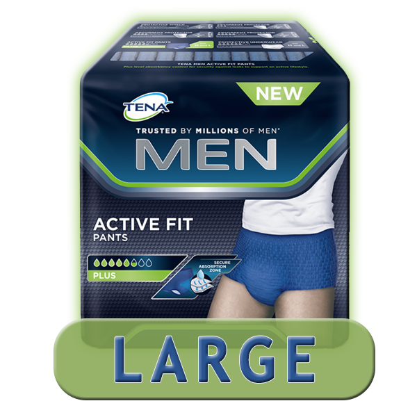 TENA Men Active Fit Large