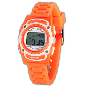 Rodger Trilhorloge Orange Joy